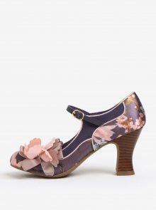 Modré květované lodičky Ruby Shoo Madelaine