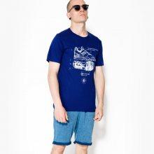Nike Tričko Ss Tee Huarache Muži Oblečení Trička 840327429 Muži Oblečení Trička Tmavomodrá US XXL