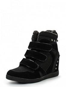 Keddo Dámská kotníčková obuv na klínku 858167/05-02F_black\n\n