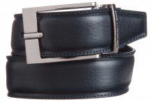 Pásek Trussardi Jeans | Černá Modrá | Pánské | 100 cm