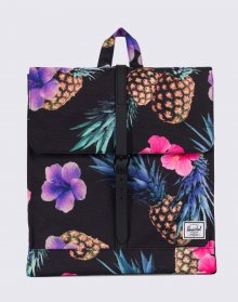 Herschel Supply City Black Pineapple/Black Rubber