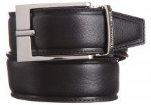 Pásek Trussardi Jeans | Černá Hnědá | Pánské | 95 cm