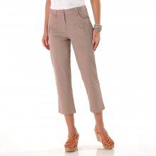 Blancheporte 3/4 kalhoty klasického střihu hnědošedá 36