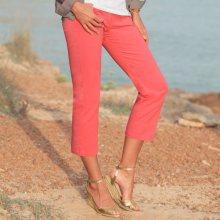 Blancheporte 3/4 kalhoty klasického střihu korálová 36
