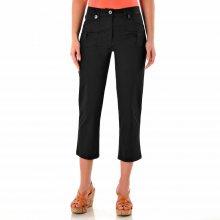 Blancheporte 3/4 kalhoty klasického střihu černá 36