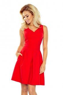 Numoco Červené dámské šaty 160-3