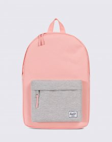 Herschel Supply Classic Mid-Volume Peach/Light Grey Crosshatch