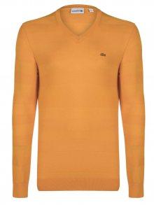 Oranžový elegantní svetr od Lacoste Size: S