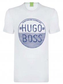 Bílo-modré prémiové tričko od Hugo Boss Size: S
