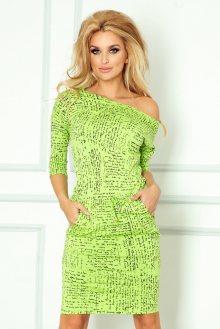 Numoco Dámské šaty s potiskem 13-35