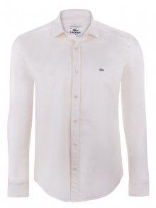 Krémová elegantní košile od Lacoste Size: S