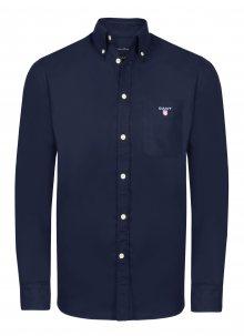 Tmavě modrá luxusní košile od Gant Velikost: S