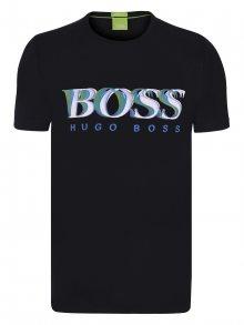 Černo-bílé prémiové tričko od Hugo Boss Size: S