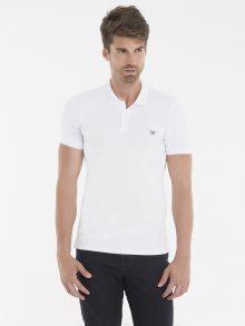 Bílá elegantní polokošile od Armani Jeans Size: S