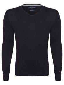 Černý luxusní svetr od Tommy Hilfiger Size: S