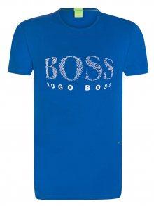 Modro-bílé prémiové tričko od Hugo Boss Size: S