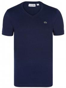 Tmavě modré elegantní tričko od Lacoste Size: S
