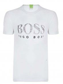 Bílo-černé prémiové tričko od Hugo Boss Size: S