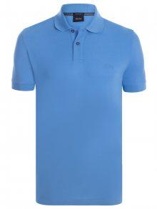 Světle modrá elegantní polokošile od Hugo Boss Size: S
