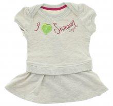 Šaty dětské Diesel | Šedá | Dívčí | 3 měsíce