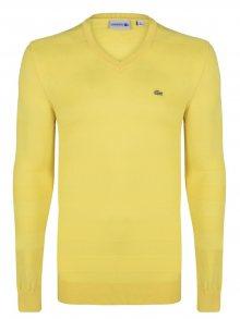 Žlutý elegantní svetr od Lacoste Size: M