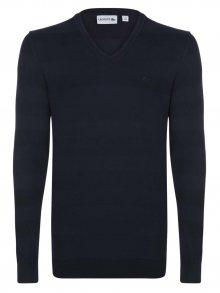 Tmavě modrý elegantní svetr od Lacoste Size: M