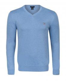 Světle modrý elegantní svetr od Gant Size: S