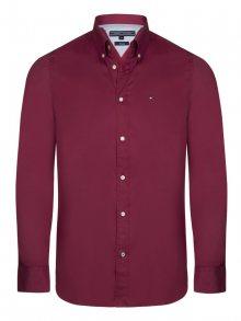 Bordó elegantní košile od Tommy Hilfiger Size: S