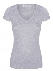 Šedé elegantní tričko od Lacoste Size: XS