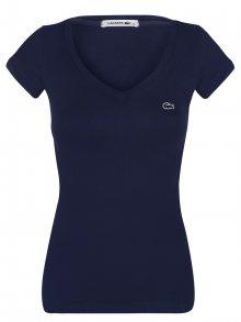 Tmavě modré elegantní tričko od Lacoste Size: XS