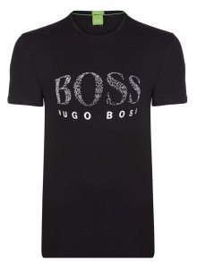 Černobílé prémiové tričko od Hugo Boss Size: S