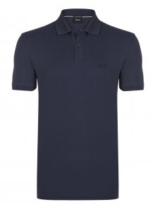Tmavě modrá elegantní polokošile od Hugo Boss Size: M