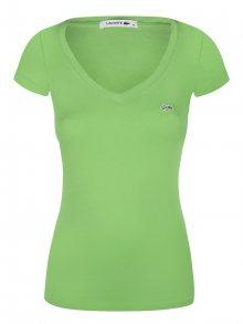Pistáciové elegantní tričko od Lacoste Size: XS