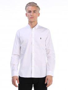 Bílo-černá prémiová košile od Ralph Lauren Size: S