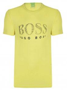 Žluto-černé prémiové tričko od Hugo Boss Size: S