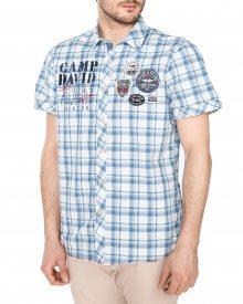 Košile Camp David | Modrá | Pánské | L