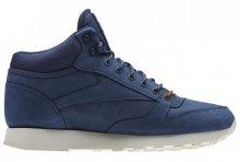 Reebok Classic Leather Goretex Mid modré AQ9850