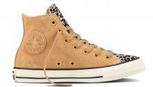 Converse Chuck Taylor All Star Leather světlehnědé C157632
