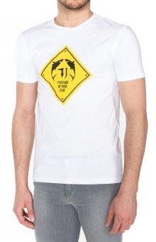 Triko Trussardi Jeans | Žlutá Bílá | Pánské | M