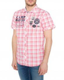 Košile Camp David | Růžová | Pánské | L