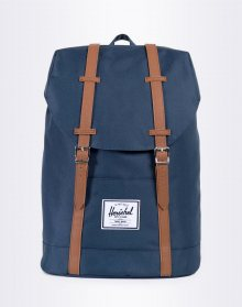 Herschel Supply Retreat Navy/Tan Synthetic Leather 19,5l