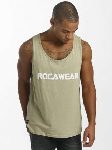 Tank Tops Color Block Khaki M