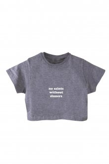 Basic Crop Top No saints without sinners