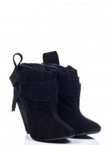 L37 Kotníkové boty na podpatku B_MYF_SW4
