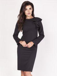 Naoko Dámské šaty AT113_BLACK