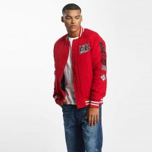 College Jacket Big Logo Red M