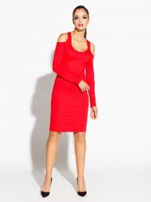 Dursi Dámské šaty DRESS 078 RED