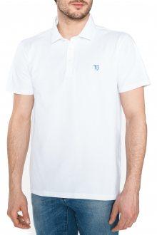 Polo triko Trussardi Jeans | Bílá | Pánské | L