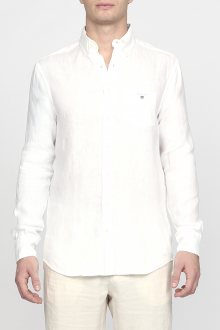 Košile GANT THE LINEN SHIRT SLIM BD