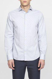 Košile GANT G2. DOBBY FIL COUPE SLIM AMALFI